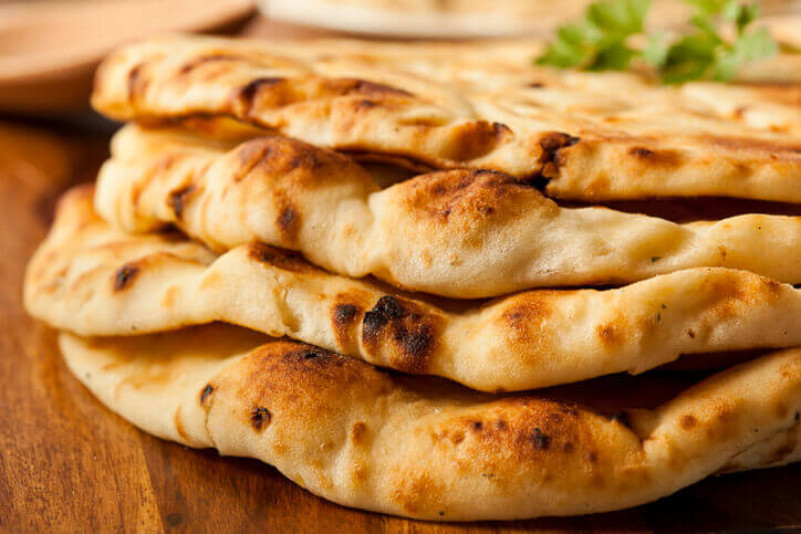 Hassle-free Naan Bread